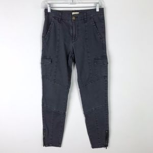 ModCloth Skinny Cargo Ankle Jeans S #187